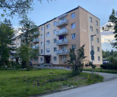 Bleskozvod a domáce telefóny v bytovom dome Mierová